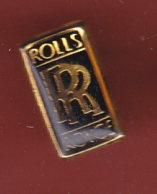 54764-Pin's.Rolls Royce Automobile.. - Badges