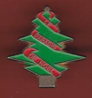 54765-Pin's.Sapin De Noel.arbre. - Noël