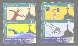 Serie De Sri Lanka Año 2016 **  DEPORTES (SPORTS) - Sri Lanka (Ceilán) (1948-...)