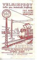 Buvard VELMINFROY Eau Minérale 70 VELMINFROY / Train - Transports