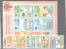 Serie Y Hoja Bloque De Trinidad Y Tobago Nº Yvert 390/95 Y HB-26 ** - Trinidad Y Tobago (1962-...)