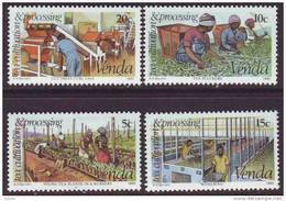 D90819 Venda South Africa 1980 FARMING TEA MNH Set - Afrique Du Sud Afrika RSA Sudafrika - Venda