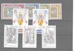 3 Series De Turks Y Caicos Nº Yvert 246/49, 250/53 Y 254/57 ** - Islas Cocos (Keeling)