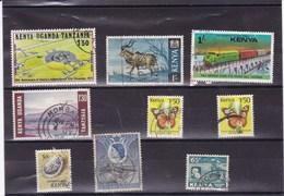 KENYA : Y&T :lot De 8 Timbres Oblitérés - Kenya (1963-...)