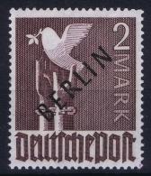 Berlin 1949 Mi Nr 18 MNH/** Postfrisch  BPP Signed/ Signé/signiert/ Approvato - Berlin (West)