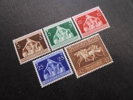 D.R.Mi 617-620*/621 X* - 1936 - Mi 12,50 € - Unused Stamps