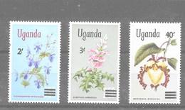 Serie De Uganda Nº Yvert 111/13 **  FLORES (FLOWERS) - Uganda (1962-...)