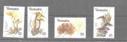 Serie De Vanuatu Nº Yvert 686/89 **  SETAS (MUSHROOMS) - Vanuatu (1980-...)