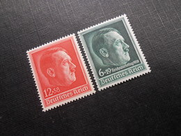 D.R.Mi 664**MNH/ 672*MLH - 1938 - Mi 16,00 € - Germany