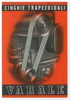Cartolina Commerciale Biella - Varale Antonio - Cinghie Trapezoidali In Cuoio - Biella