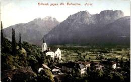Dölsach Gegen Die Dolomiten, Tirol (650) * 1908 - Dölsach