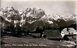 Iselsberg 1204 M, Gasthof Wacht Mit Lienzer Dolomiten (791/165) * 1939 - Dölsach