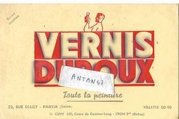 Buvard Vernis Peinture DUROUX / Maisons à PANTIN 93 &  LYON - Peintures