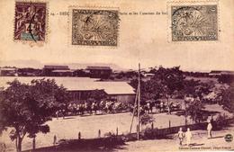 MADAGASCAR - DIEGO SUAREZ LE PARC D'ARTILLERIE ET LES CASERNES DU BATAILLON - Madagascar