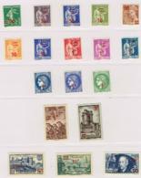 GF2-nfs ** Cote 1441 Euros Yvert 2012  (2 Timbres Avec Charnière N°418 Et 425 Cote 21 Euros !  ) - 1940-1949