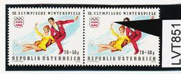 """LTV851 ÖSTERREICH 1975 Michl 1499 PLATTENFEHLER """"LANGER FINGER"""" ** Postfrisch - Abarten & Kuriositäten"""