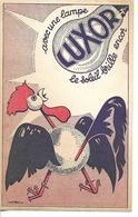 Buvard Lampe LUXOR / Coq Art Nouveau - Electricité & Gaz