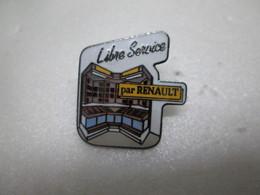 PIN'S    LIBRE SERVICE  RENAULT   Egf - Renault
