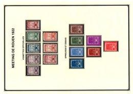 Vignettes De La Poste Aérienne - Commemorative Labels