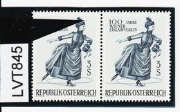 """LTV845 ÖSTERREICH 1967 Michl 1231 PLATTENFEHLER """"FARBFLECK"""" ** Postfrisch - Abarten & Kuriositäten"""