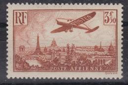 FRANCE Poste Aérienne 1936:   Le 3,50Fr. Brun-jaune (Y&T 13), Neuf**, Forte Cote, TTB - Airmail
