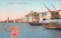 Egypte / Belle Oblitération Croix Rouge - 129 - Ras El Tin Palace - Egypte
