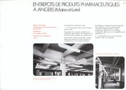 Vers 1970 - Iconographie - Angers (Maine-et-Loire) - Un Entrepot De Produits Pharmaceutiques - FRANCO DE PORT - Non Classés