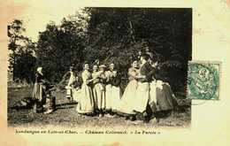 41...LOIR ET CHER...CHATEAU CILIVAUIT...LA FARCIE...VENDANGE EN LOIR ET CHER - France