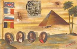 Egypte - Topo / Belle Oblitération - 88 - Belle Carte Illustrée - Egypt