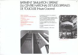 Vers 1970 - Iconographie - Toulouse (Haute-Garonne) - Un Batiment Du CNES - FRANCO DE PORT - Non Classés