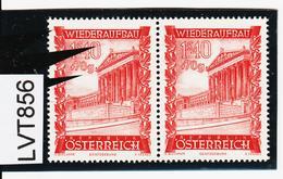 LTV856 ÖSTERREICH 1948 Michl 867 PLATTENFEHLER FARBSTRICHE Im MARKENBILD ** Postfrisch - Errors & Oddities