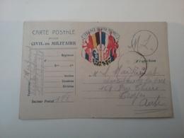 Carte En Franchise Correspondance Des Armées Cachet - Postmark Collection (Covers)