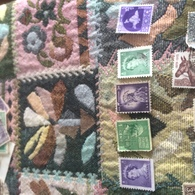 STATI UNITI PRESIDENTE USA STATUA LIBERTA' VIOLA - Stamps