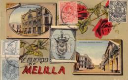 Espagne - Melilla / Belle Oblitération - 38 - Très Belle Carte Souvenir - Melilla