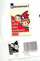 Ticket Entree Cite Des Enfants Sponsor Maif - Tickets D'entrée