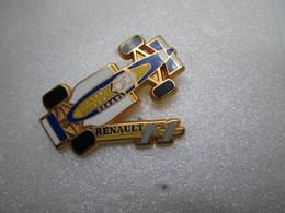 PIN'S     RENAULT    F 1     Arthus  Bertrand - Renault