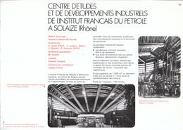 Vers 1970 - Iconographie - Solaize (Rhône) - Le Centre D'études Du Pétrole - FRANCO DE PORT - Non Classés