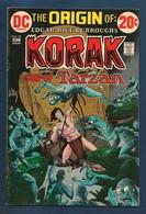 The Origin Of Korak, Son Of Tarzan # 49 - DC - In English - 1972 - TBE - DC