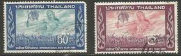 Thailand - 1966 Rice Year Used    Sc 457-8 - Thailand