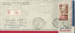 Lettre Terre Adélie 1949/50 - 1901-1940