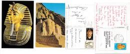 Egypte  : A Voir !!!  2 Jolies Cartes Postales Affranchies - Egypt