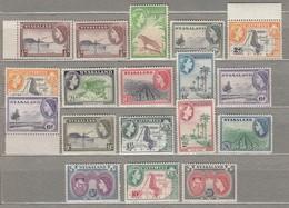 NYASALAND 1953 Mi 99-113 SG 173-187 MNH (**) #23435 - Nyassaland (1907-1953)