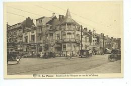 De Panne Boulevard De Nieuport Et Rue De Walkiers - De Panne