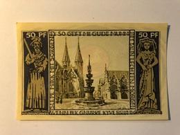 Allemagne Notgeld Braunschweig 50 Pfennig - [ 3] 1918-1933 : République De Weimar