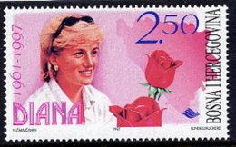 BOSNIA & HERCEGOVINA (Sarajevo) 1997 Princess Diana  MNH / **.  Michel 113 - Bosnia And Herzegovina