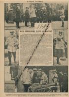 GUERRE 14-18 : Document, Général Joffre, Chasseurs Alpins, Général Dubail, Canon De 77, Autographe, Légion D'honneur - Non Classés