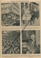 GUERRE 14-18 : Document, Fête De Jeanne D'Arc Place De Pyramides à Paris, Les Anglais Font La Chasse Aux Austro-Allemand - Non Classés