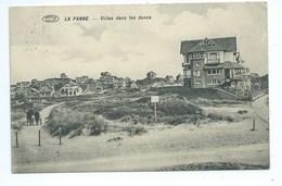 De Panne Villas Dans Les Dunes - De Panne
