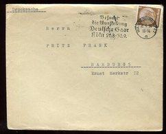 Allemagne - Enveloppe De Magdeburg Pour Hamburg En 1934 - N85 - Briefe U. Dokumente