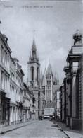 TOURNAI - La Rue St-Martin Et Le Beffroi - NELS, Série Tournai, N° 21 - Oblitération De 1910 - Tournai